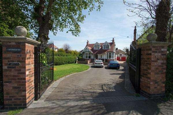 4 Bedrooms Detached House for sale in Nottingham Road, Hucknall, Nottingham