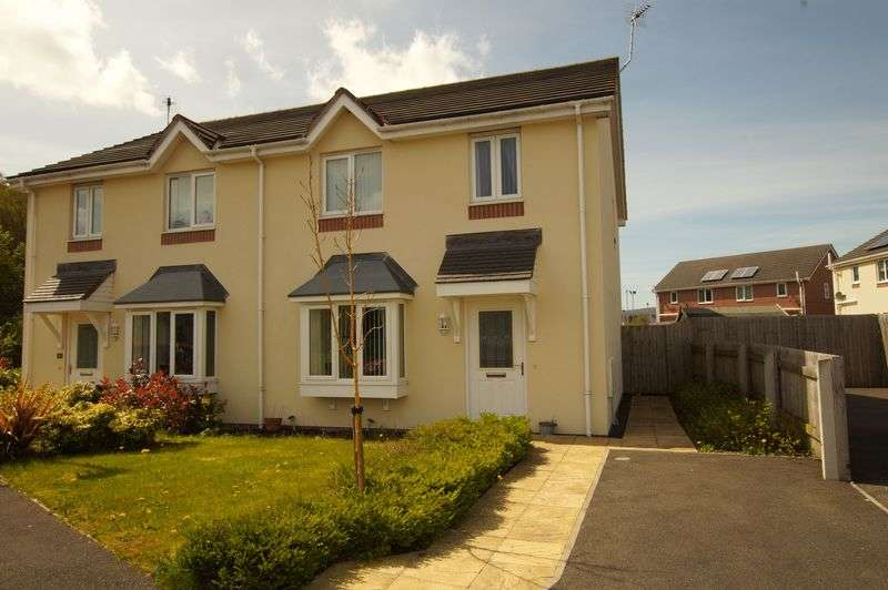 3 Bedrooms Semi Detached House for sale in Glan yr Afon, Rhostyllen, Wrexham