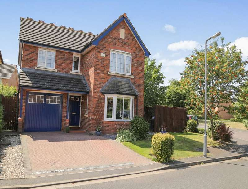 4 Bedrooms Detached House for sale in Scholars Green, WIGTON, CA7