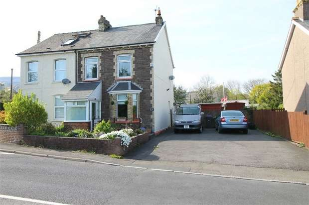 3 Bedrooms Semi Detached House for sale in Grove Place, Pontnewydd, Cwmbran