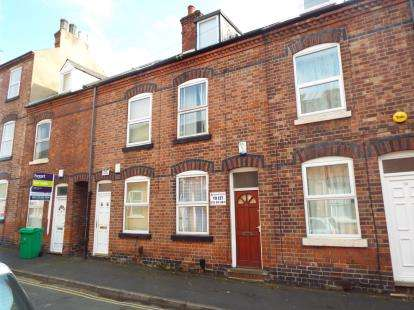 3 Bedrooms Terraced House for sale in Hart Street, Lenton, Nottingham, Nottinghamshire