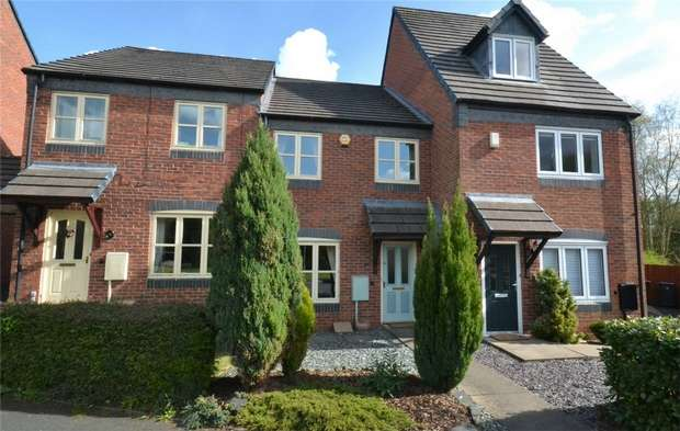 3 Bedrooms Terraced House for sale in 14 Colridge Court, Donnington, Telford, Shropshire