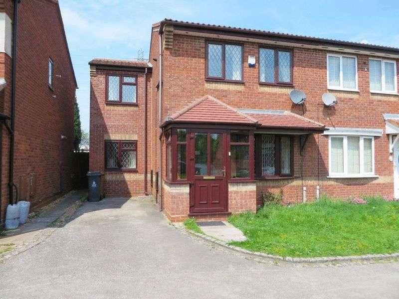3 Bedrooms Semi Detached House for sale in Osborne Drive, Wednesbury