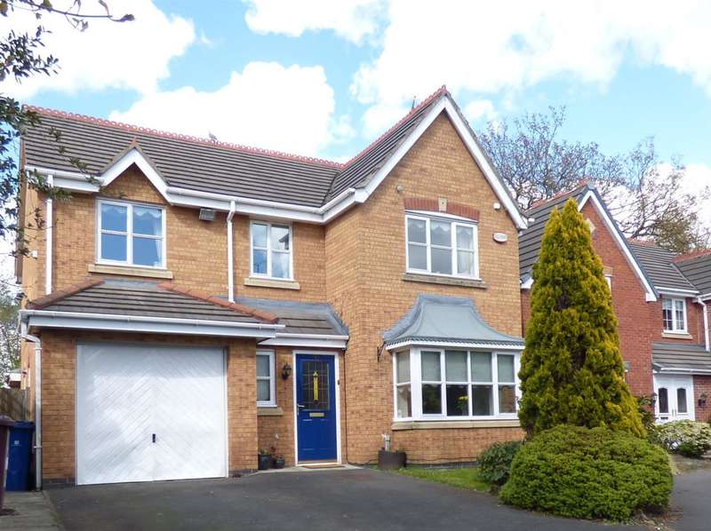 4 Bedrooms Detached House for sale in Smithford Walk, Tarbock Green, Liverpool