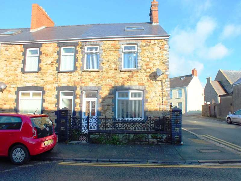2 Bedrooms End Of Terrace House for sale in Warwick Road, Milford Haven, Pembrokeshire