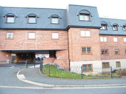 1 Bedroom Flat for sale in St. Giles Court, Wrexham, Wrecsam, LL13