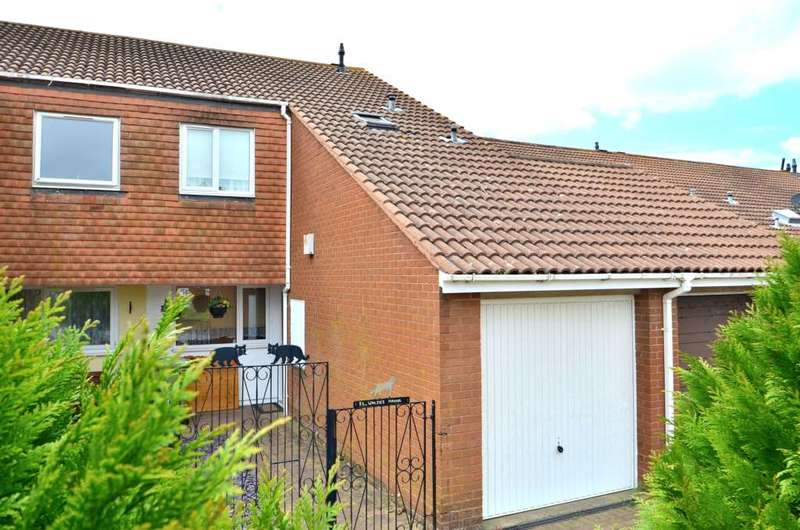 3 Bedrooms Terraced House for sale in Walsh`s Manor, Stantonbury