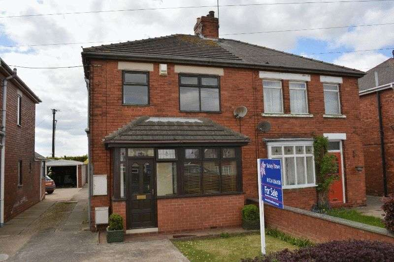 3 Bedrooms Semi Detached House for sale in Roxby Road, Winterton, Scunthorpe