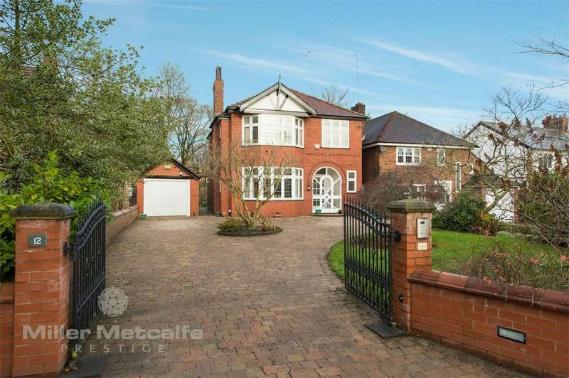 4 Bedrooms Detached House for sale in Greenleach Lane, Worsley, Manchester