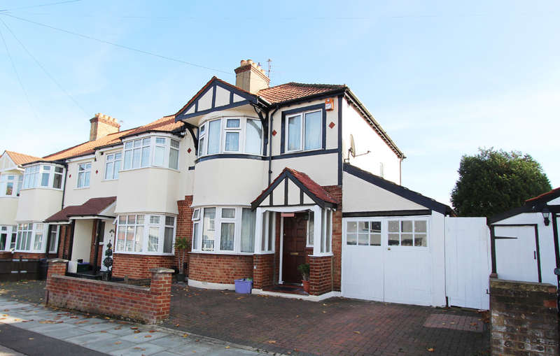 3 Bedrooms End Of Terrace House for sale in Cavendish Avenue, New Malden
