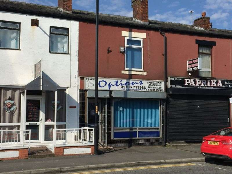 Property for sale in FOR SALE - 768 MANCHESTER ROAD, CASTLETON. Prominent mid terraced office/retail premises