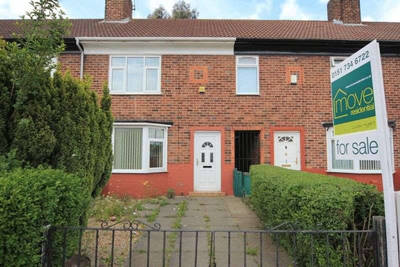 3 Bedrooms Terraced House for sale in Ackers Hall Avenue, Huyton, Liverpool, L14