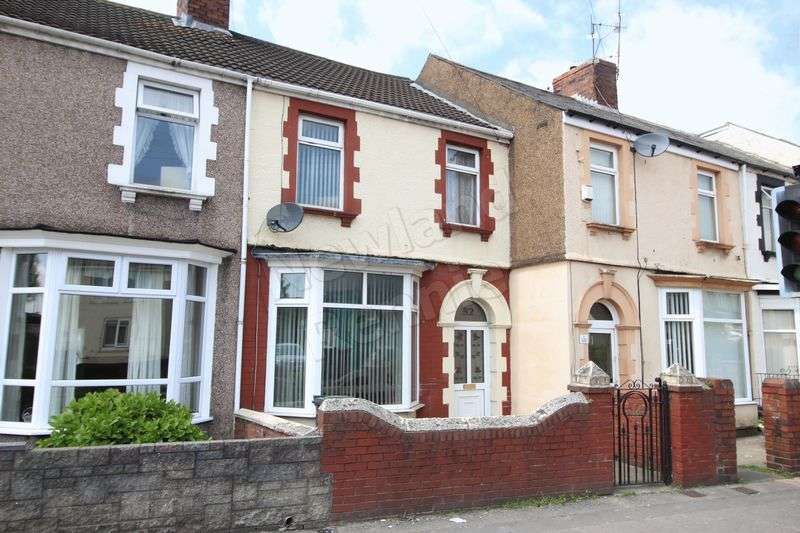 3 Bedrooms Terraced House for sale in Somerton Road, Somerton, Newport