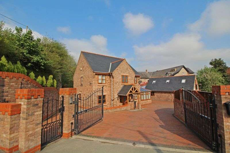 5 Bedrooms Detached House for sale in Methodist Hill, Froncysyllte