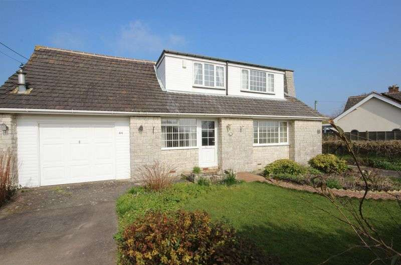 4 Bedrooms Detached Bungalow for sale in Chapel Road, Pawlett