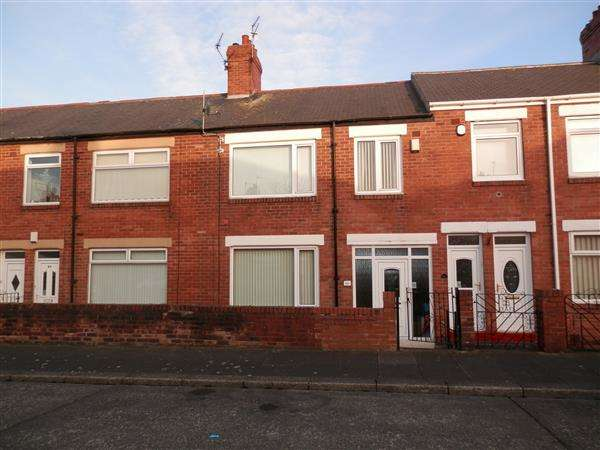 4 Bedrooms Terraced House for sale in Eastbourne Avenue, Walkerdene, Newcastle Upon Tyne