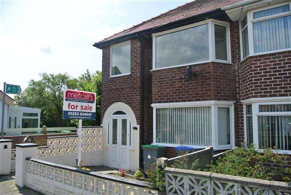 3 Bedrooms End Of Terrace House for sale in Gresley Place, Blackpool