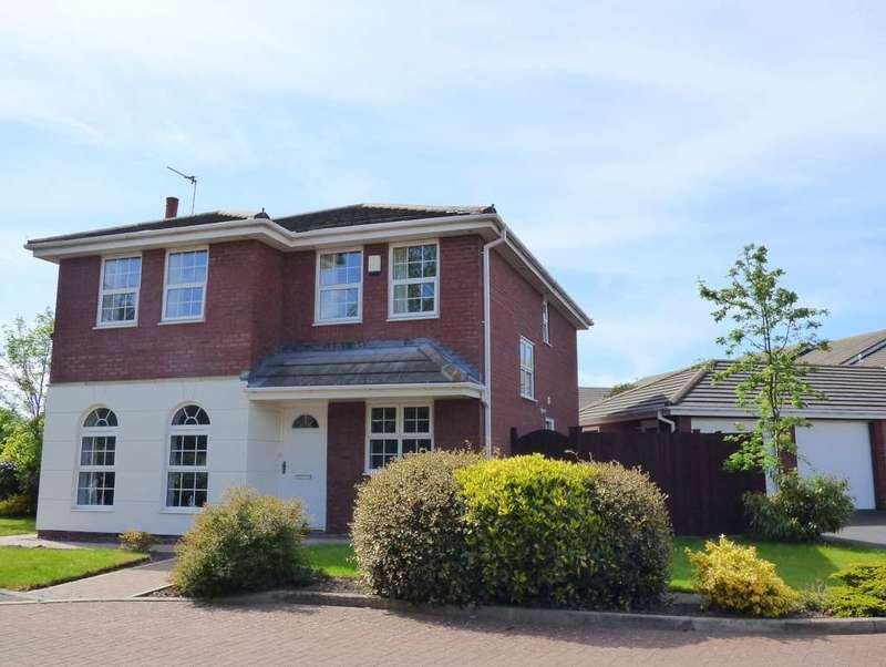 4 Bedrooms Detached House for sale in Tanners Way, Cypress Point, Lytham St Annes