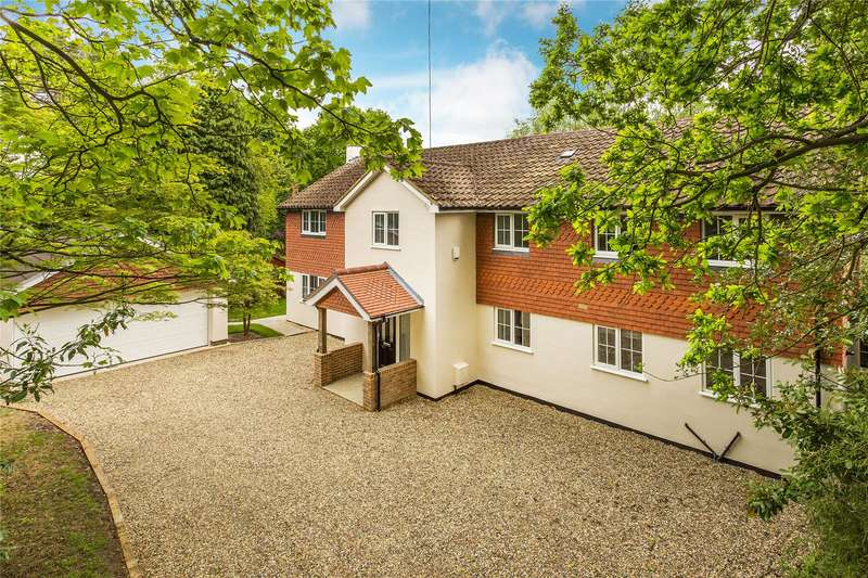 6 Bedrooms Detached House for sale in Hook Heath Road, Hook Heath, Woking, Surrey, GU22