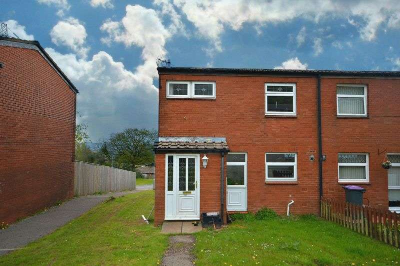 3 Bedrooms Terraced House for sale in Monnow Court, Cwmbran