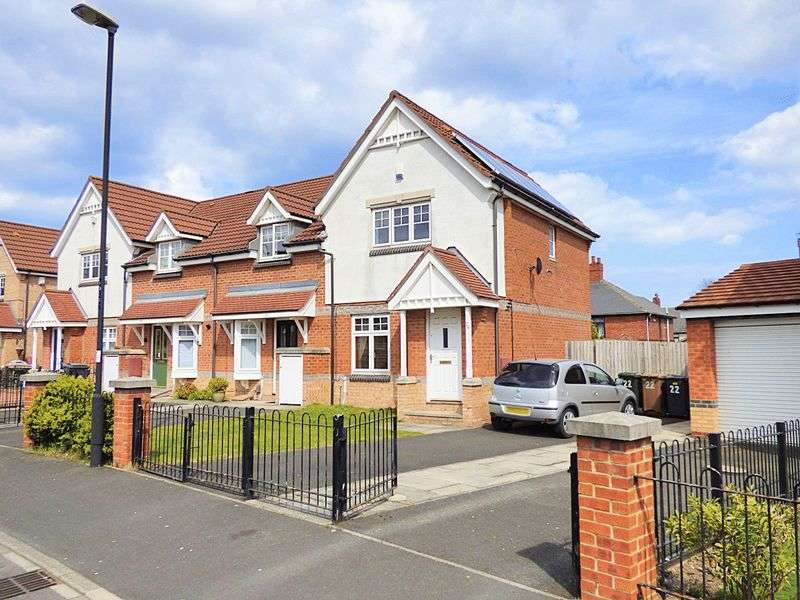 2 Bedrooms House for sale in Oakham Gardens, North Shields