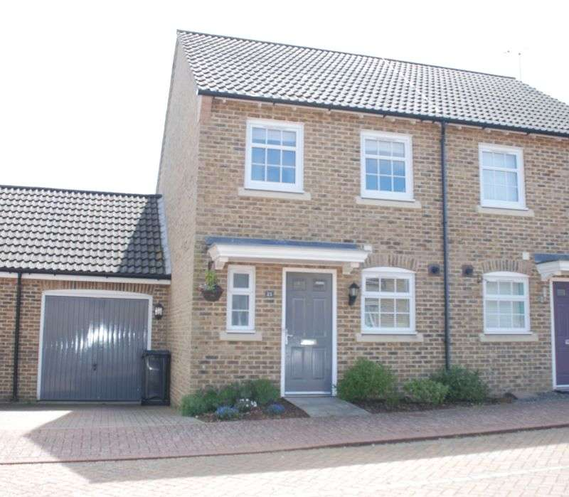 2 Bedrooms Semi Detached House for sale in Allington Rise, Hook