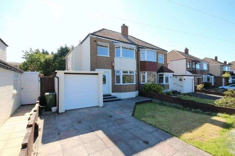 3 Bedrooms Semi Detached House for sale in Glastonbury Terrace, Llanrumney