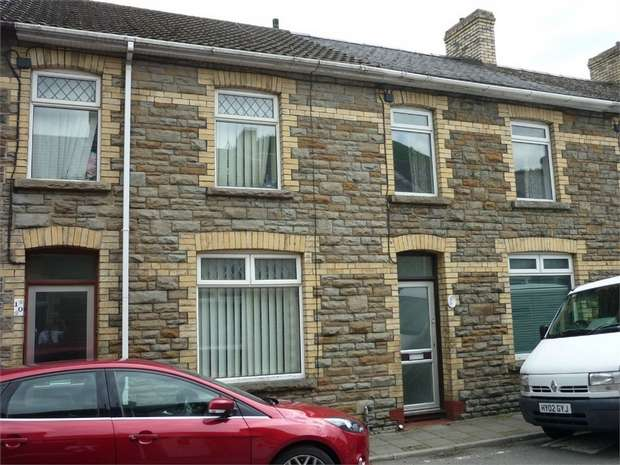 3 Bedrooms Terraced House for sale in Bright Street, Cross Keys, NEWPORT