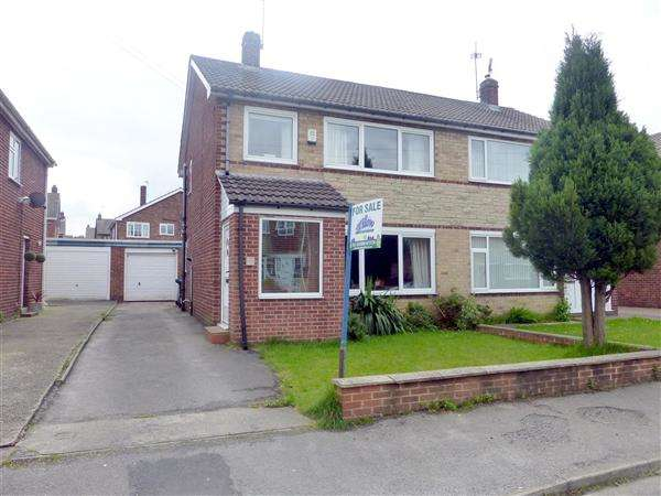 3 Bedrooms Semi Detached House for sale in St David's Drive, South Anston, Sheffield