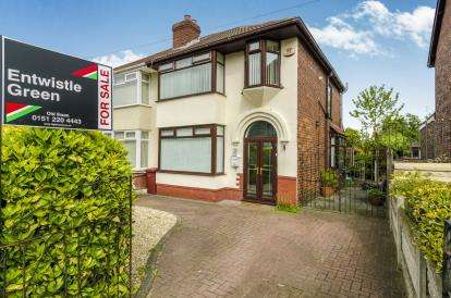 3 Bedrooms Semi Detached House for sale in Windsor Road, Huyton, Liverpool, Merseyside, L36