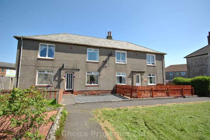 2 Bedrooms Flat for sale in Playingfield Crescent, Crosshouse, KA2 0JL