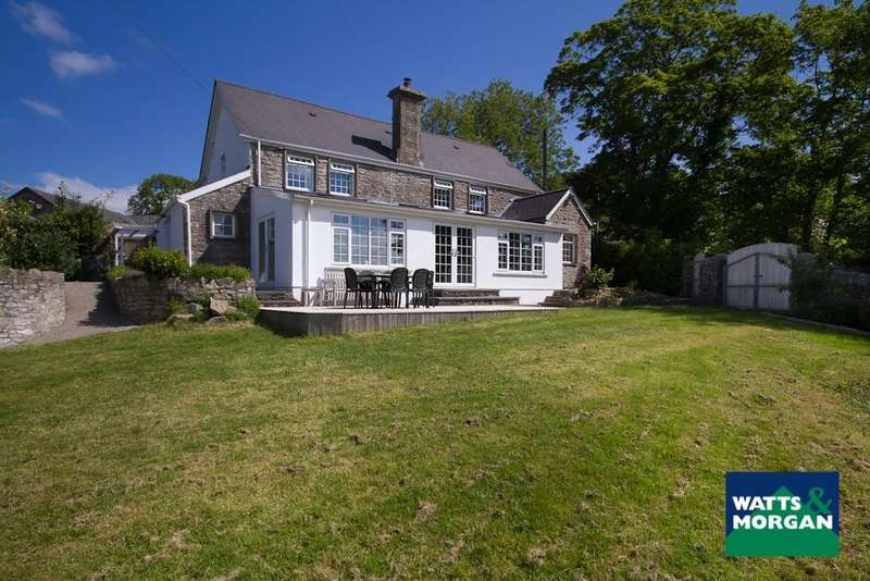 5 Bedrooms Detached House for sale in St Mary Hill, Llangan, Near Cowbridge, Vale Of Glamorgan, CF35 5DT