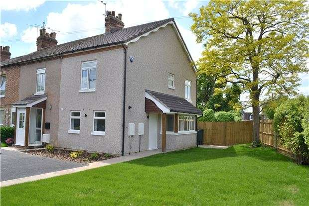 2 Bedrooms End Of Terrace House for sale in 6A Station Road, Dunton Green, SEVENOAKS, Kent, TN13 2XA
