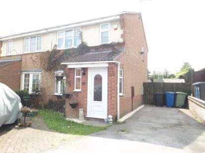 3 Bedrooms Semi Detached House for sale in Acacia Avenue, Hollingwood, Chesterfield, Derbyshire