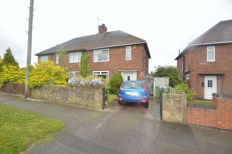 3 Bedrooms Semi Detached House for sale in Central Avenue, Blidworth