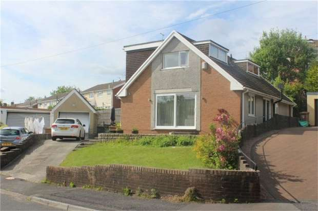 3 Bedrooms Detached House for sale in Cedar Close, The Bryn, Pontllanfraith, Blackwood, Caerphilly