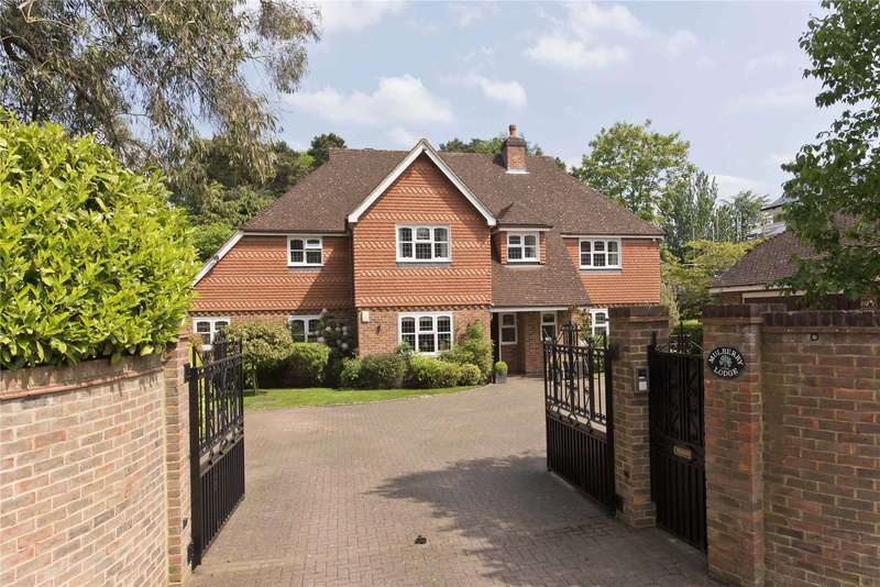 5 Bedrooms Detached House for sale in Old Avenue, Weybridge, Surrey, KT13