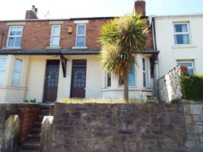 2 Bedrooms Terraced House for sale in Holly Bank, Bottom Road, Summerhill, Wrexham, LL11