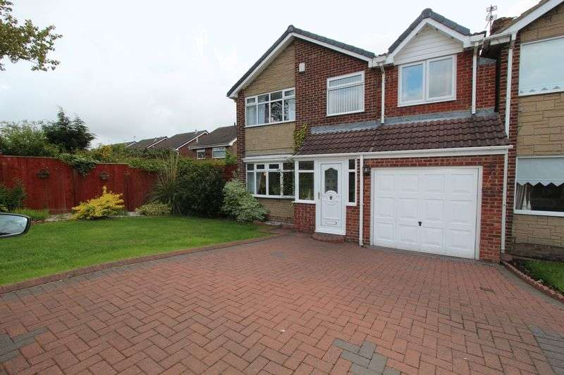4 Bedrooms Detached House for sale in Boulby Close, Tunstall, Sunderland