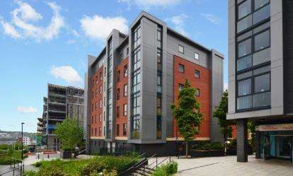 1 Bedroom Flat for sale in Atlantic One, 1 St. Georges Walk, Sheffield, South Yorkshire