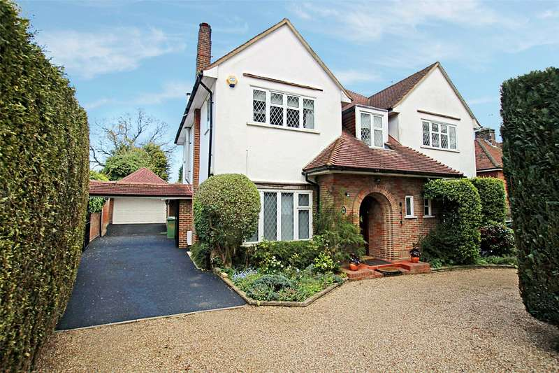 4 Bedrooms Detached House for sale in Marshals Drive, St. Albans, Hertfordshire, AL1