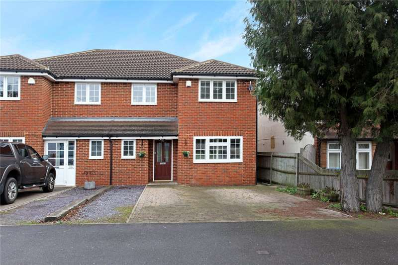 4 Bedrooms Semi Detached House for sale in Clewer Hill Road, Windsor, Berkshire, SL4