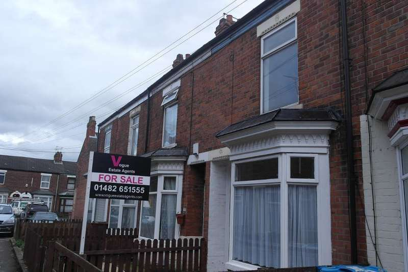 2 Bedrooms Terraced House for sale in Vermont Crescent, Hull, HU5 1PX