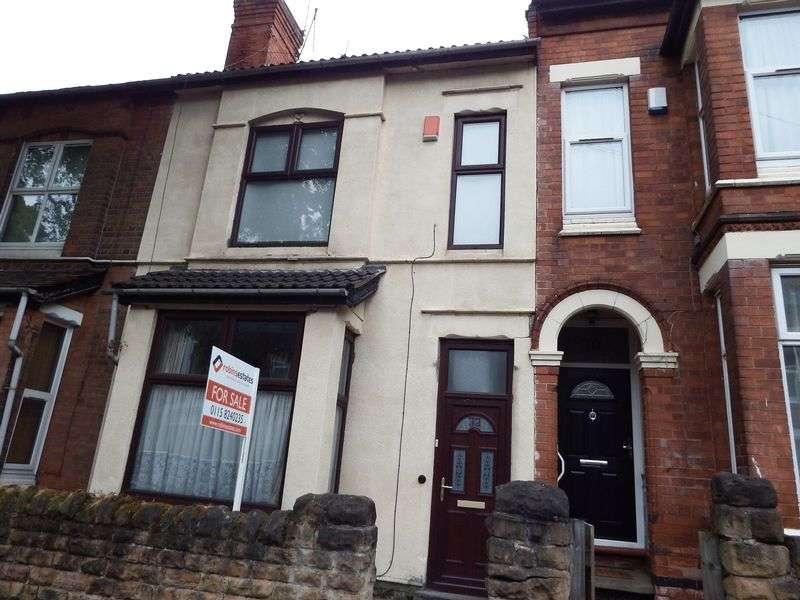 3 Bedrooms Terraced House for sale in Derby Grove, Nottingham