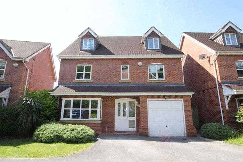 5 Bedrooms Detached House for sale in Lazonby Close, Prenton, Wirral