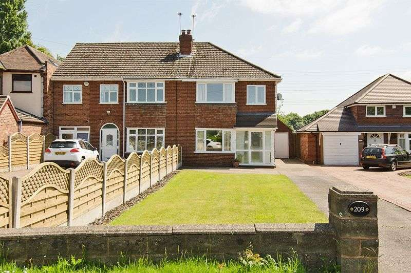 3 Bedrooms Semi Detached House for sale in Cannock Road, Westcroft, Wolverhampton