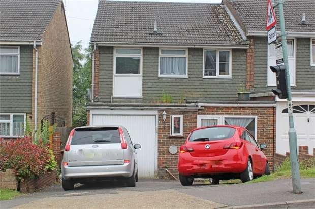 4 Bedrooms Semi Detached House for sale in Dargets Road, Chatham, Kent