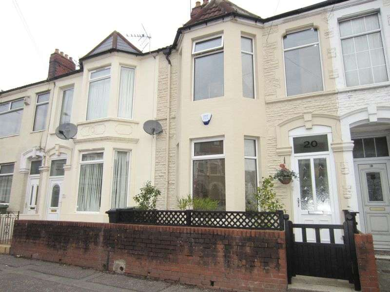 3 Bedrooms Terraced House for sale in Lansdowne Road Canton Cardiff CF5 1PT