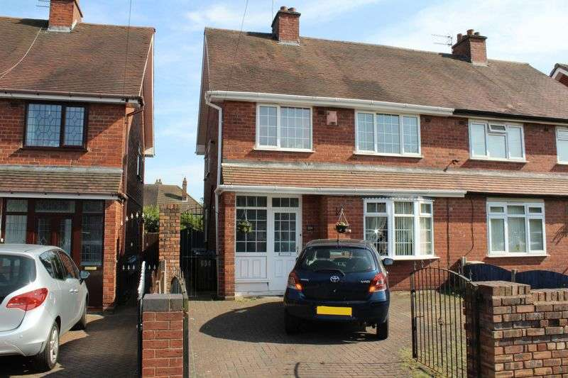 3 Bedrooms Semi Detached House for sale in Arthur Road, Tipton