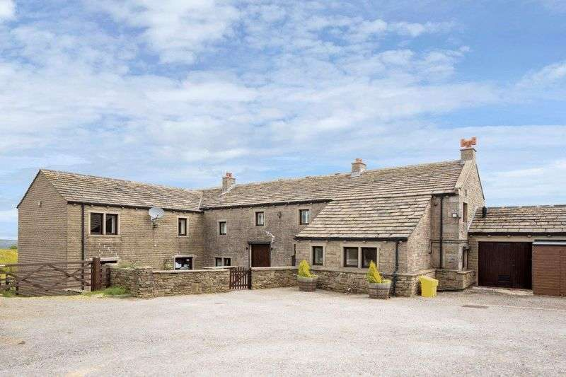 5 Bedrooms Property for sale in Hill Top Farm, Weather Hill Lane, Holmfirth